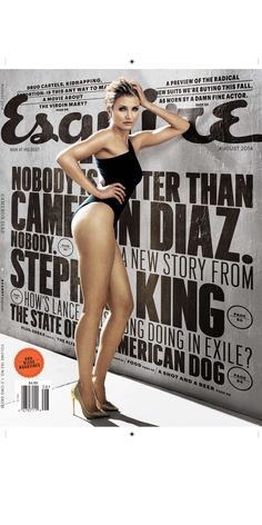 Esquire Cover, love the use of perspective