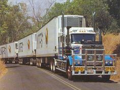 Trucks from the Australia