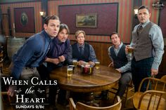 WCTH Men of Hope Valley: Hickam, Pastor Frank, Bill, Jack, and the soon-to-be-groom Lee <# Elizabeth Thatcher, Jack And Elizabeth, Jack Thornton, Daniel Lissing, Newest Tv Shows, Man Character, The Heart Of Man, Fandoms Unite, Hallmark Channel