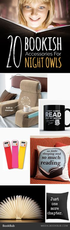 Check out this list of 20 bookish accessories for some creative Christmas gift ideas for book lovers!