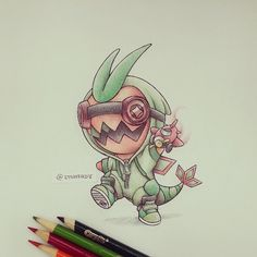 Trapinch in a Flygon onesie by itsbirdy