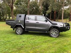 Specialising in customised trays and dog boxes as well as other metal fabrication and engineering. Toyota Hilux, Custom Ute Trays, Pickup Canopy, 4x4, Ute Canopy, Vw Amarok, Tray Styling, Roll Cage, Land Cruiser