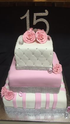 Quincenera birthday cake