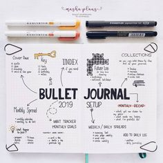 Bullet Journal can virtually help you with anything. Check out this list of Bullet Journal page ideas for you to get the maximum out of your planner! Bullet Journal Monthly Log, How To Bullet Journal, Bullet Journal Junkies, Bullet Journal Notebook, Bullet Journal Aesthetic, Bullet Journal Themes, Bullet Journal Spread, My Journal, Bullet Journal For School