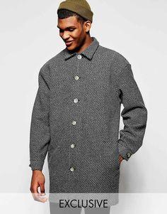 Reclaimed Vintage | Reclaimed Vintage Cocoon Coat at ASOS #coat