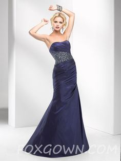 a-line prom dress with beadwork and pleats bodice