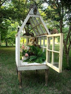 *The Brambleberry Cottage*: Tips and Tricks Tuesday #8 - How to Make a Yard Conservatory..