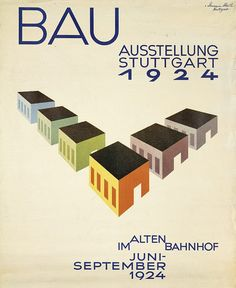 Construction Exhibition, Stuttgart (1924) by Susanlenox, via Flickr