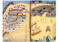 Okmeydanı-Levni-Surname-i Vehbi-1720