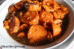 Slow Cooker Southern Candied Yams Best Candied Yams Recipe, Southern Candied Yams, Candied Sweet Potatoes, I Heart Recipes, Side Dish Recipes, Slow Cooker Recipes, Cooking Recipes, Crockpot Recipes, Crockpot Dishes
