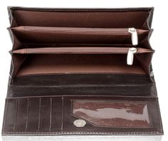 Choco-Brown Wallet Combo  A Combo of a Ladies clutch with a Gents wallet a perfect combination made for each other!