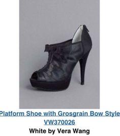 My bridesmaid's shoes