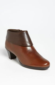 Free shipping and returns on Munro 'Grace' Bootie at Nordstrom.com. A fold-over cuff adds to the chic aesthetic of a mid-height bootie designed for comfort with a contoured footbed and removable insole.