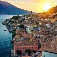 Lake Garda - Limone - Italy