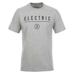 Electric Corp. Identity Men's Heather Grey Tee Shirt EA4311619HTG