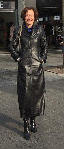 Pin By Rob On Long Leather Coats Leather Coat Jacket Long