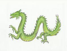 Dragon Drawings | Ladybugs Class