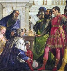 Family of Darius before Alexander by Paolo Veronese