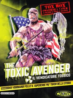 The Toxic Avenger - Il Vendicatore Tossico (Anniversary Edition) (5 Dvd) Koch Media http://www.amazon.it/dp/B00II5Q7UG/ref=cm_sw_r_pi_dp_rD-lwb0V9W4VX