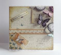 Time flies Craftwork Cards