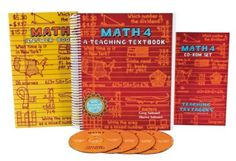 Teaching Textbooks Math 4 Complete Kit