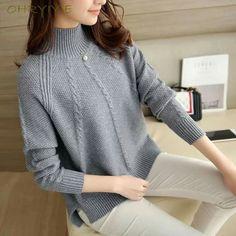 Crochet Patterns For Women Sweaters Sleeve 61 Ideas Cool Sweaters, Girls Sweaters, Winter Sweaters, Jumpers For Women, Cardigans For Women, Knitting Designs, Knitting Patterns, Crochet Patterns, Long Sleeve Sweater