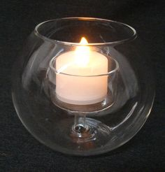3 3/4 Tall Glass Round Votive Candle Holder, Round Votive Holder - $3.60 per candle for centerpieces