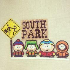 South Park perler beads by kenta_xx