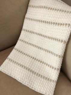 Limerick Crochet Baby Blanket - Whether you want to use multiple colors or neutrals, the chunky Limerick Baby Blanket is a stunning blanket with a simple stitch. The lovely texture is like woven fabric. This is a CROCHET PATTERN listing, not the physical baby blanket. The pattern is written in English only. ♥ Approximate finished size is 27 x 31 inches. It is very easy to add chains to the pattern to make the size you desire. The multi-colored blanket was made with DK yarn holding two…