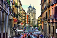 Madrid, Spain. | This is at the top of my list for places I want to go.