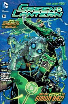 Green Lantern (2011) #34 #DC #GreenLantern #New52 (Cover Artist: Billy Tan)