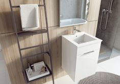 Meble łazienkowe/ bathroom furniture Qubo Plus Collection Home, Design, Haus, Homes, Houses, At Home