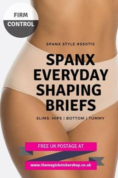 80601d4041b These Spanx Everyday Shaping Briefs are the perfect every day wardrobe  essential. They are as
