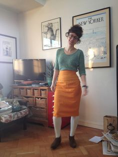 By Hand London Charlotte Skirt - Snitches Get Stitches