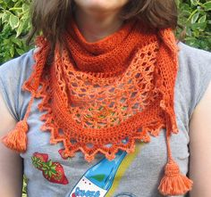 Juliana Wrap by Rachel Lintern.  Fabulous free pattern--I'm about to make it for the second time.