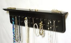 Necklace Hanger Jewelry Organizer Necklace Holder Jewelry Hanger Wall Shelf