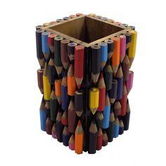 Fair Trade Recycled Pencil Pot