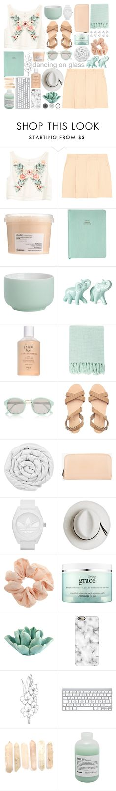 """""""MY 3 YEAR POLYVORE ANNIVERSARY"""" by glowing-eyes ❤ liked on Polyvore featuring H&M, Chloé, Davines, CB2, Fresh, Surya, River Island, Brinkhaus, Marni Edition and adidas"""