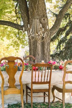 Mix & Match Vintage Chairs - www.theperfectpalette.com - Lori Kennedy Photography + Embellish Productions