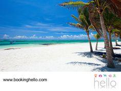 VIAJES DE LUNA DE MIEL. Si elegiste Cancún para celebrar tu luna de miel, en Booking Hello te recomendamos salir a conocer algunos de los mejores lugares de este paraíso. Akumal es el sitio perfecto para la relajación o para atreverse a realizar actividades diferentes como buceo, snorkeling o pesca deportiva y así, agregar un poco de aventura a este viaje tan especial. #lunademielconhello