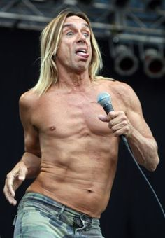 Iggy Pop and his band The Stooges perform during Budapest's one-week, round-the-clock Sziget Music Festival The Stooges, Iggy Pop, Him Band, Budapest, Rock And Roll, Clock, Music, Watch, Rock Roll