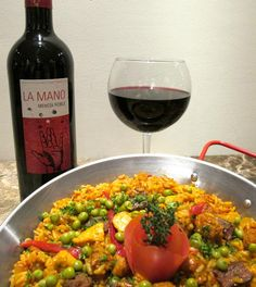 Paella de Carne from