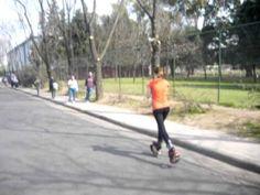 10k run on kangoo jumps shoes