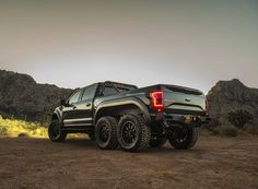 hennessey unleashes the velociraptor 6x6 MPV at SEMA 2017