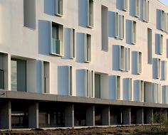 Image 4 of 20 from gallery of Canopia Park Housing / BABIN+RENAUD. Photograph by Cécile Septet
