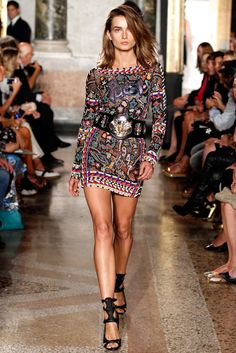 Andreea Diaconu - Emilio Pucci Spring 2014 Ready-to-Wear Collection Slideshow on Style.com