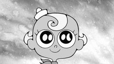 death cute Black and White kawaii cartoon heart cartoon network to End your flapjack The Marvelous Misadventures of Flapjack