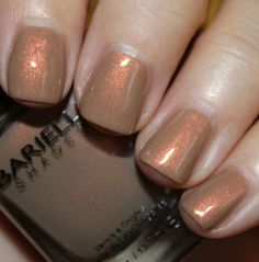 Barielle Nude and Naughty Collection for Fall 2013 - Vampy Varnish