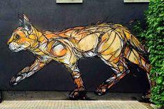 STREET ART - CAT - (StraatKunst)