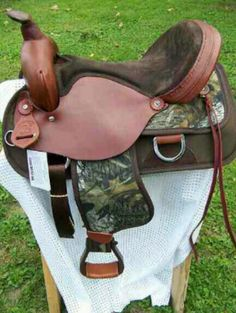 I don't like mossy oak, but I'm not finding any realtree saddles :(..... So I'd take it.